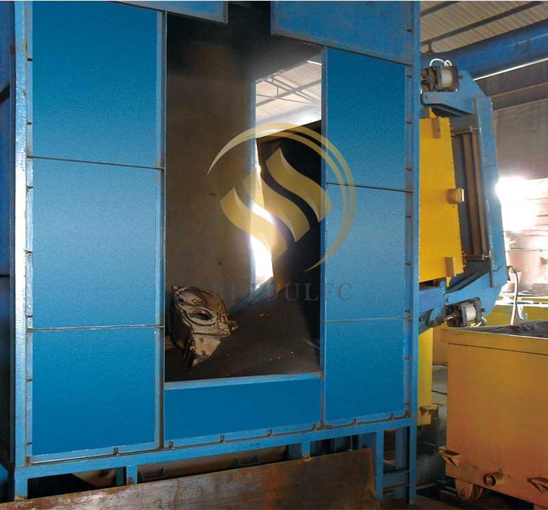 Bottom Type Hydraulic Turnover Machine