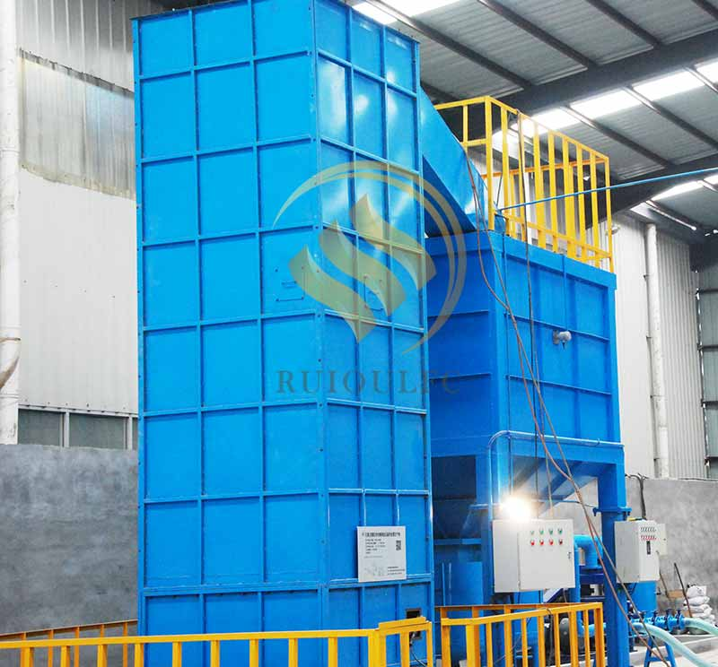 Opening Cooling Tower