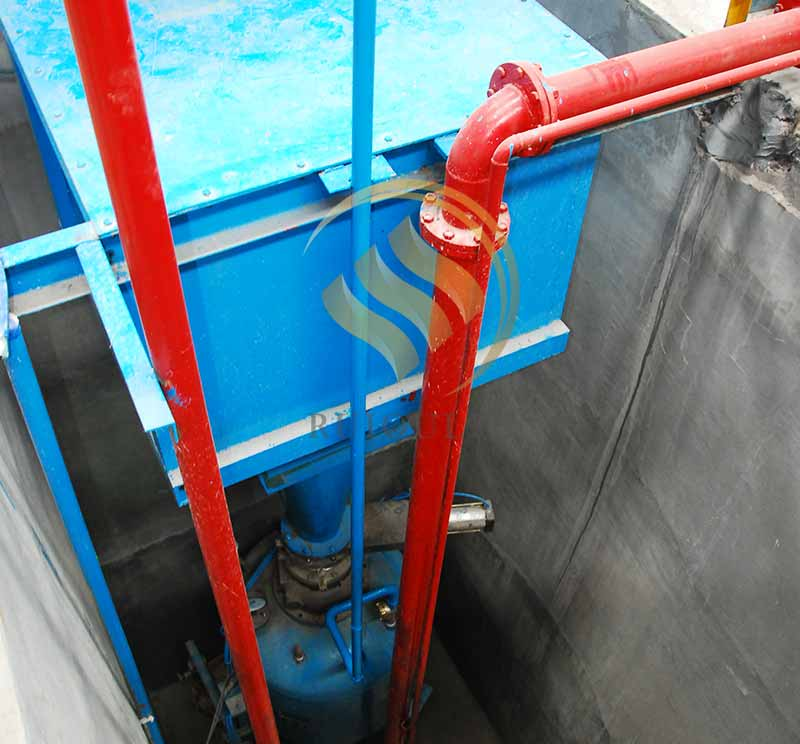 Pneumatic Sand Conveying System