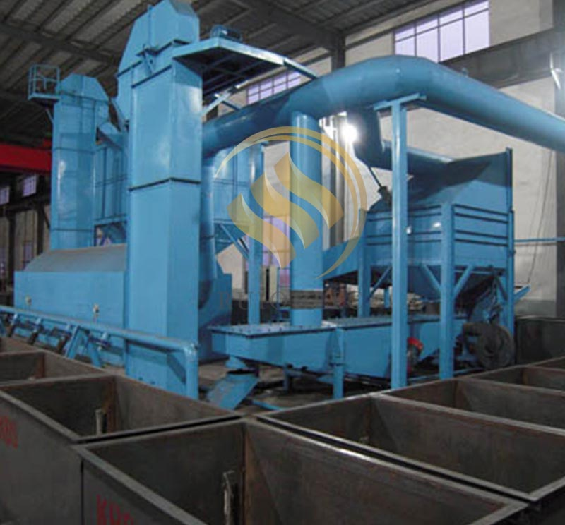 Horizontal Cold Sand Processing System