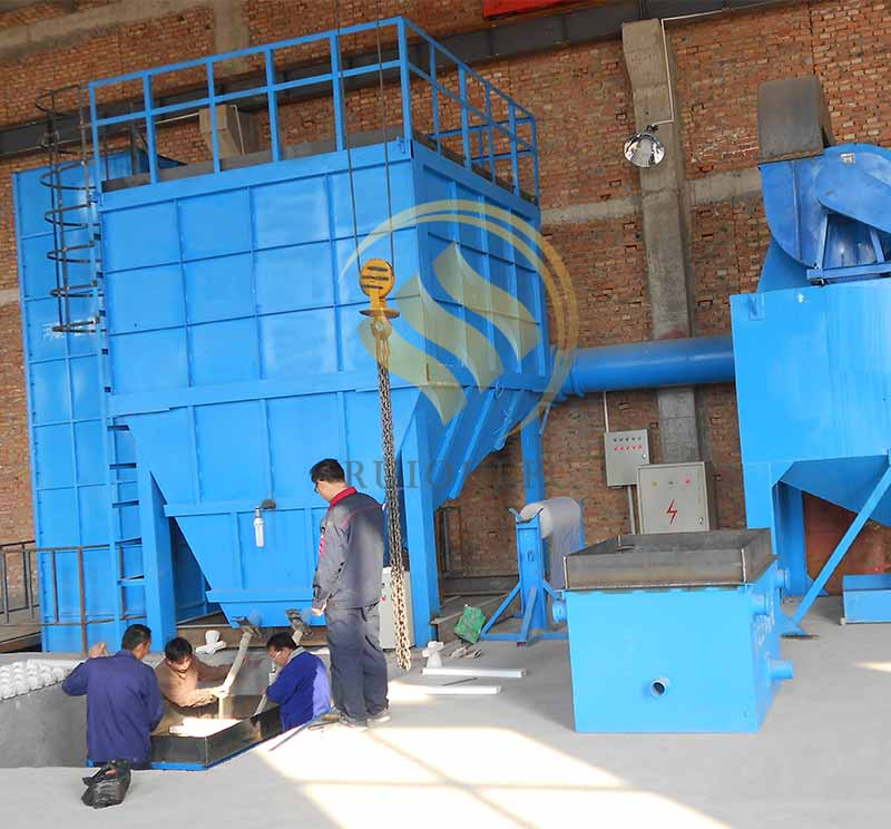 Vertical Cooling Machine