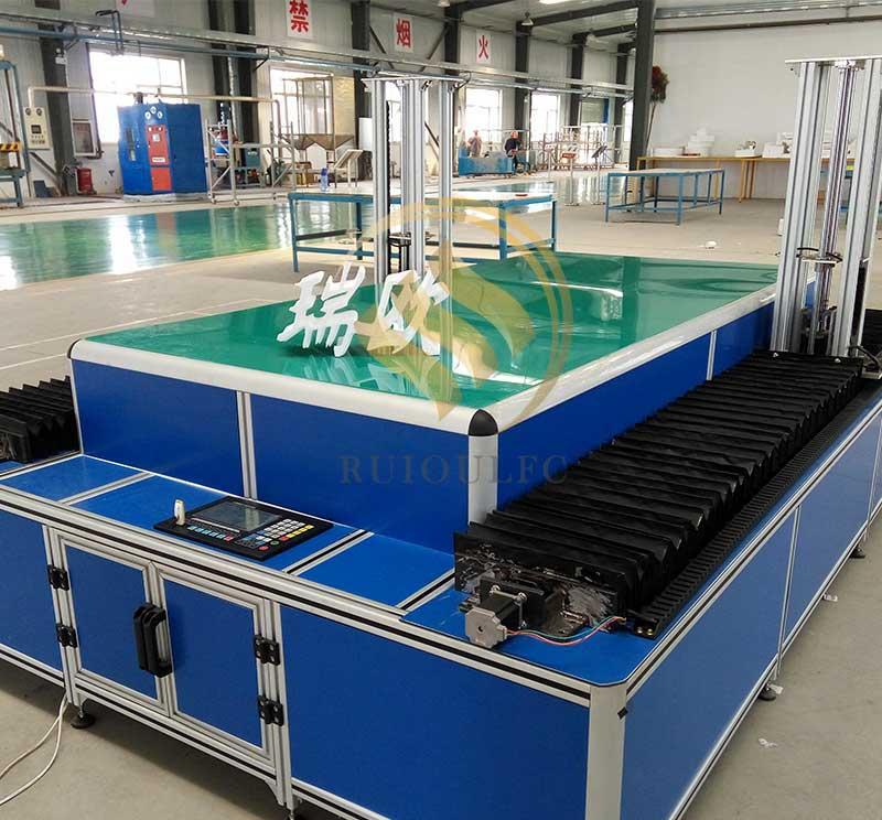 Four-Axis CNC Model Cutting Machine